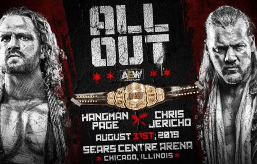 AEW World Championshp match will take place at All Out