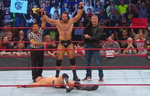 Drew McIntyre backstage for SmackDown Live