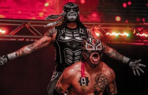 Lucha Brothers successfully defend AAA Tag Titles at AEW All Out