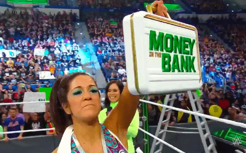 Bayley WINS Women's Money in the Bank