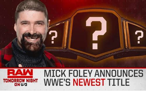 WWE to unveil a new title on RAW