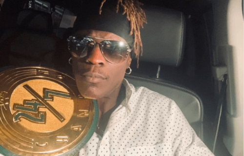 R-Truth reacts to successfully winning and escaping with the 24/7 Championship