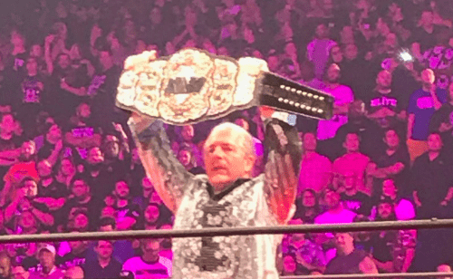 Bret Hart debuts on AEW and unveils the AEW World Championship