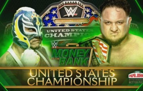 US Title match confirmed for Money In The Bank
