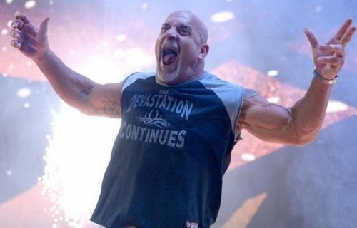 AEW apparently had big angle planned for Goldberg