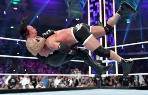 The Undertaker and Goldberg were reportedly involved in a backstage quarrel