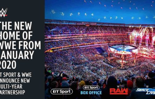 WWE moving from Sky to BT Sport in the UK and Ireland from 2020
