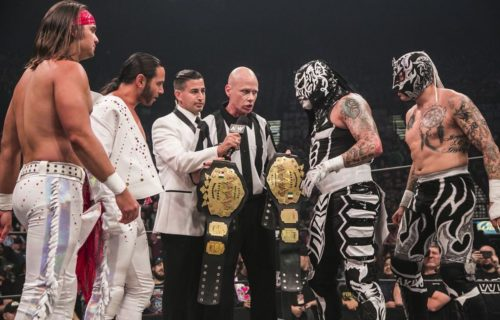 The Lucha Bros defeat The Young Bucks for AAA tag team titles