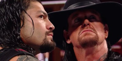 Undertaker Roman Reigns Extreme Rules