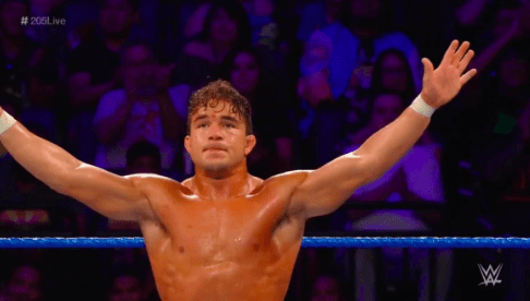 Chad Gable's 205 LIVE debut reportedly wasn't supposed to end like it did
