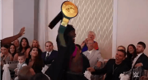 R-Truth ruins Drake Maverick's wedding by crashing it and pinning him for the 24x7 Title