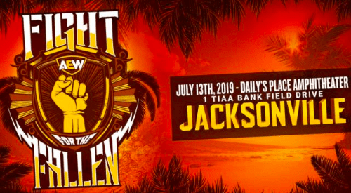 Singles match announced for AEW Fight for the Fallen
