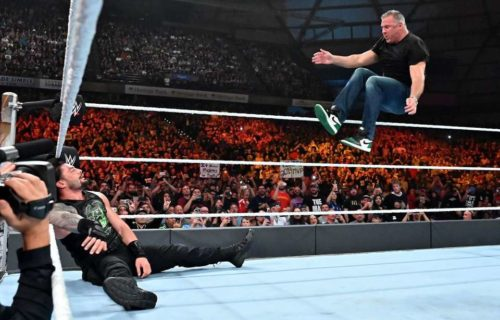 Shane McMahon possibly hurt at WWE Stomping Grounds