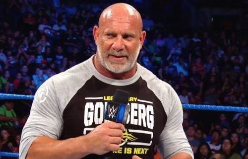 Goldberg to return on this week's SmackDown