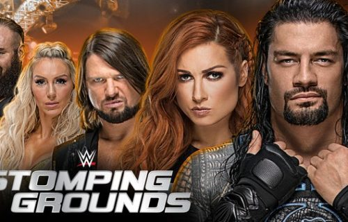 Possible title match set for WWE Stomping Grounds