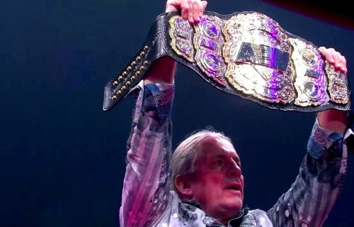 How it was decided Bret Hart would unveil All Elite World Title