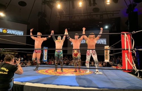 Robbie Eagles joins CHAOS by turning back on Bullet Club