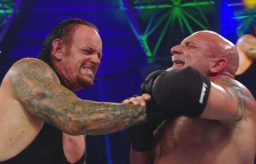 Goldberg possibly suffered concussion at WWE Super Showdown