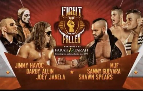 MJF responds to teaming up with Shawn Spears at AEW Fight for the Fallen