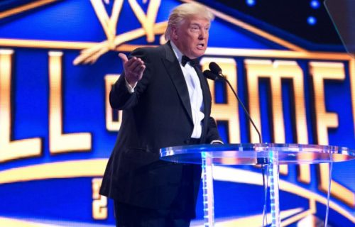 Fox apparently asking Donald Trump for Smackdown Live appearance
