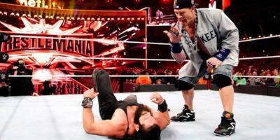 John Cena Elias WrestleMania