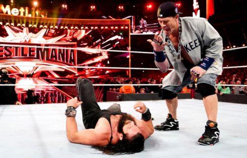 John Cena teasing TLC match