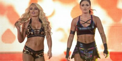 Mandy Rose and Sonya Deville on SmackDown