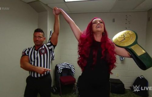 Maria Kanellis wins WWE 24/7 Title