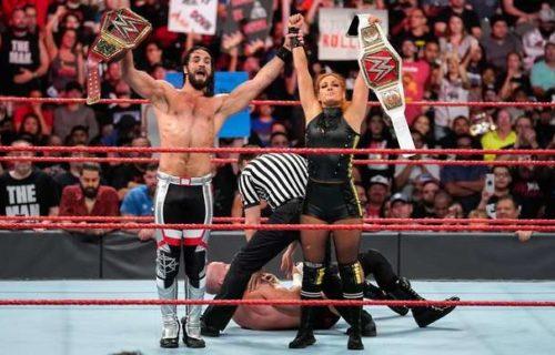 Seth Rollins & Becky Lynch to face Andrade & Zelina Vega