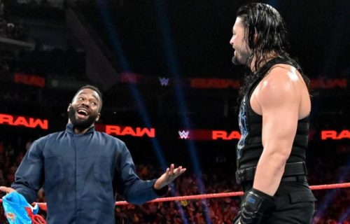 Original plans for Roman Reigns' mystery partner on Raw