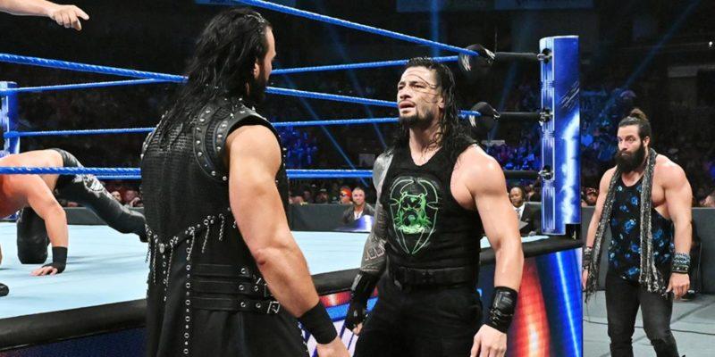 Roman Reigns SmackDown Live