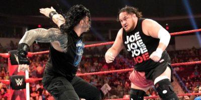 Samoa Joe vs Roman Reigns from Raw