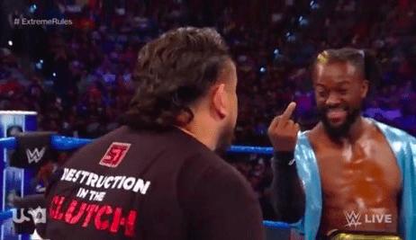 Reason why Kofi Kingston flipped Samoa Joe off on Smackdown Live