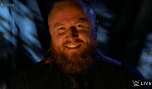 Aleister Black holds an open challenge for mystery opponent at Extreme Rules
