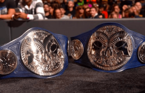 SmackDown Tag Team title match made into a triple threat at Extreme Rules
