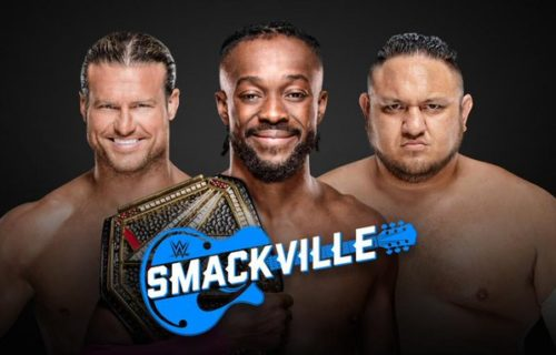 WWE Title match confirmed for Smackville special