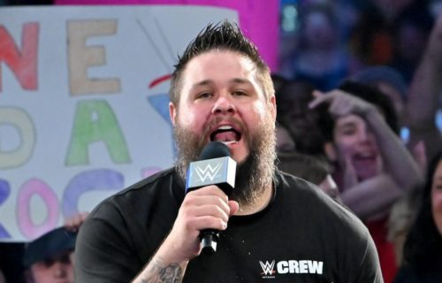 Kevin Owens given permission to cut unscripted promos