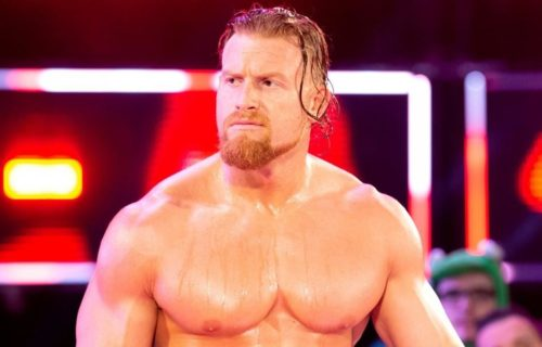 Buddy Murphy surprised many people backstage
