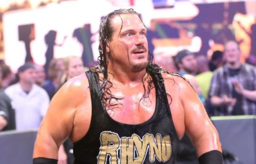 Rhyno reveals why he didn't re-sign with WWE despite being offered double the money