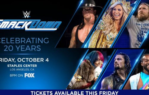 WWE announces 20th anniversary SmackDown special as the Fox premiere, several legends set to appear