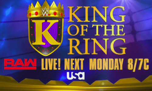 WWE announces the return of the King of the Ring tournament