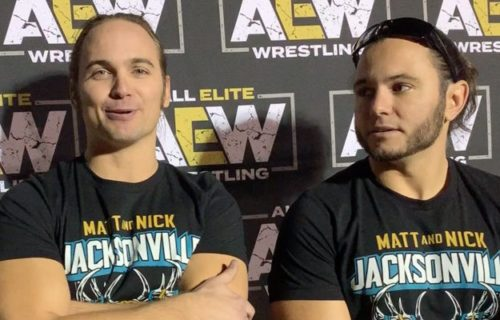 The Young Bucks pick greatest tag team of all-time