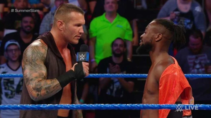 Randy Orton Confronted By Demonic Randy Orton On RAW