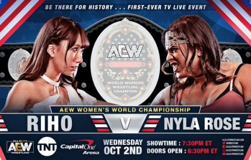 Inaugural AEW Women's title match participants for set