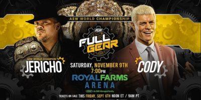 Chris Jericho vs Cody Rhodes