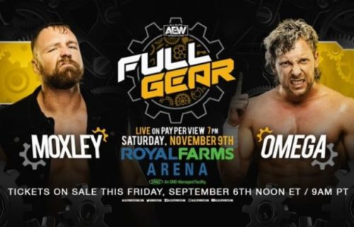 Kenny Omega vs. Jon Moxley announced for AEW Full Gear