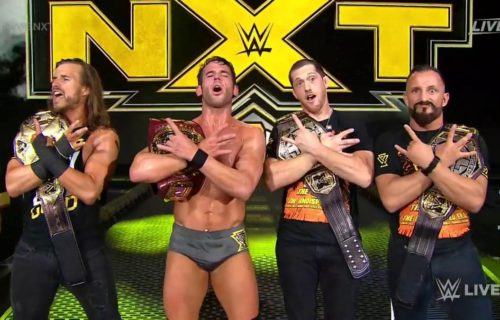 Roderick Strong wins NXT North American Championship