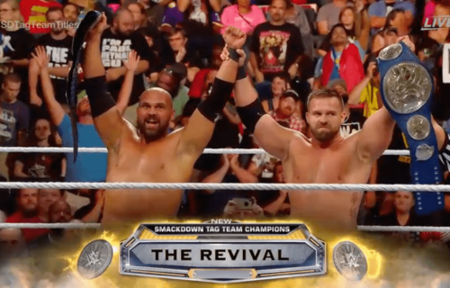 The Revival win Smackdown Tag Team Titles