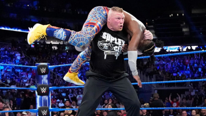 brock-lesnar-kofi-kingston-smackdown