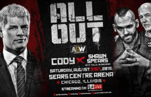 AEW All Out: Cody Rhodes gets revenge on Shawn Spears, legends appear